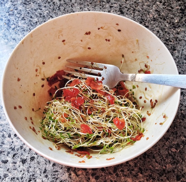 Dressed Alfalfa Sprouts
